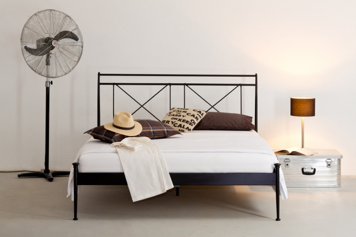 stabeiles eisenbett linton jetzt online kaufen. Black Bedroom Furniture Sets. Home Design Ideas