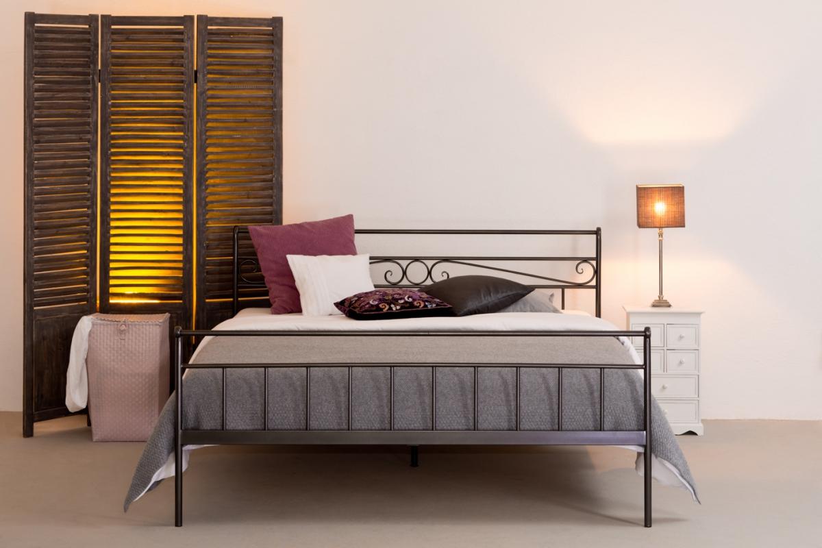 stabiles eisenbett lookwood jetzt online kaufen. Black Bedroom Furniture Sets. Home Design Ideas